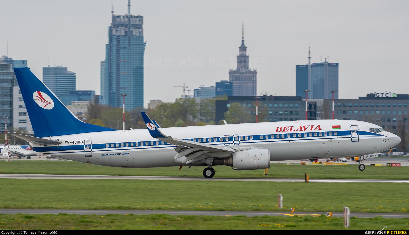 Belavia EW-438PA aircraft at Warsaw - Frederic Chopin
