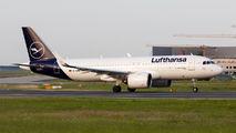 D-AINU - Lufthansa Airbus A320 NEO aircraft