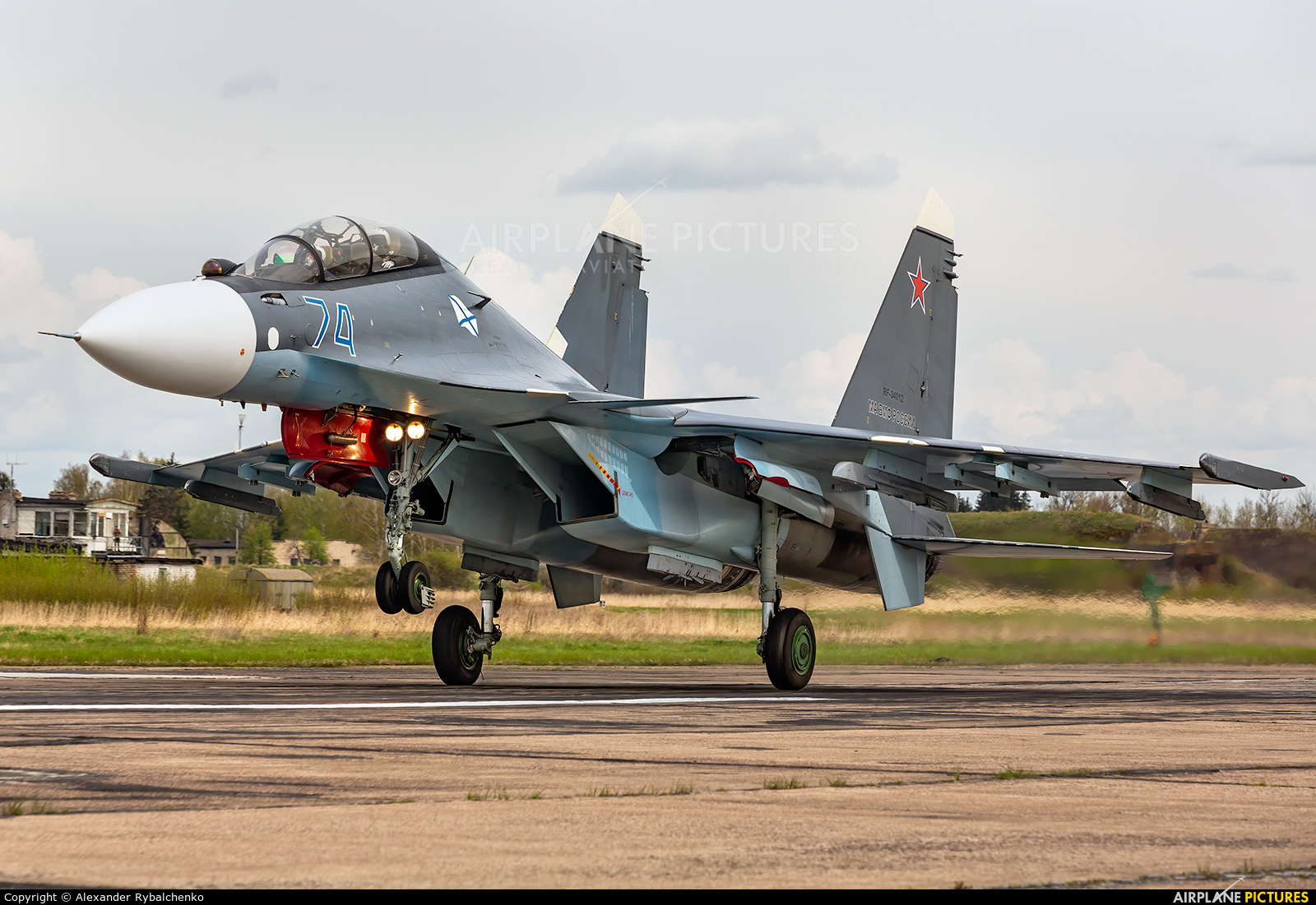 Russia - Navy RF-34012 aircraft at Undisclosed Location