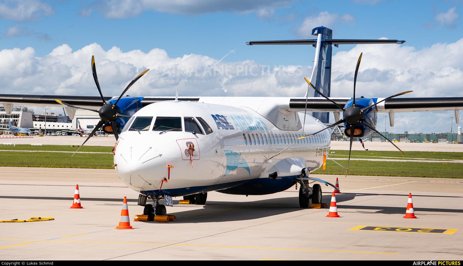 ASL Airlines EI-SOO aircraft at Stuttgart