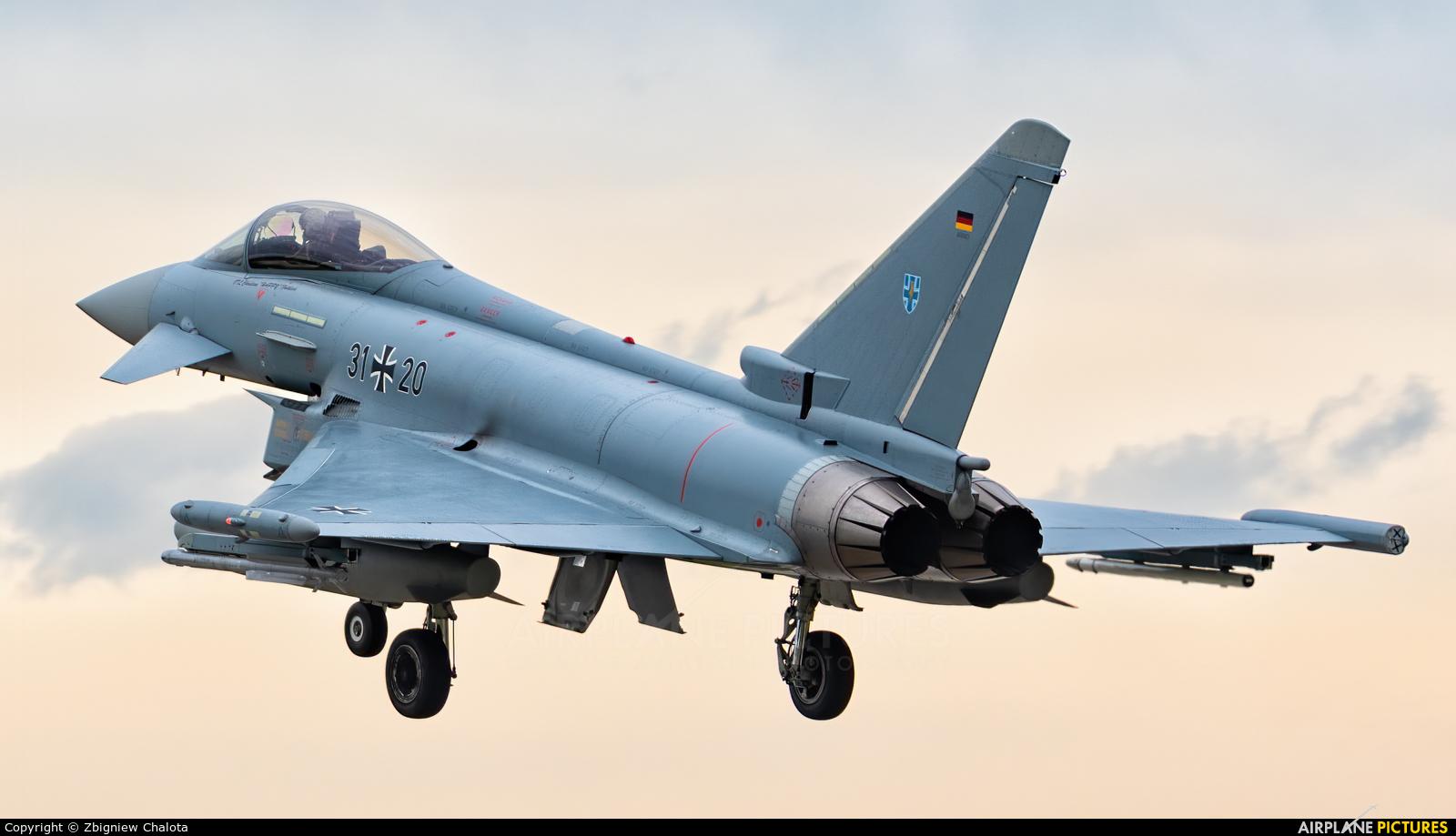 Germany - Air Force 31+20 aircraft at Neuburg - Zell