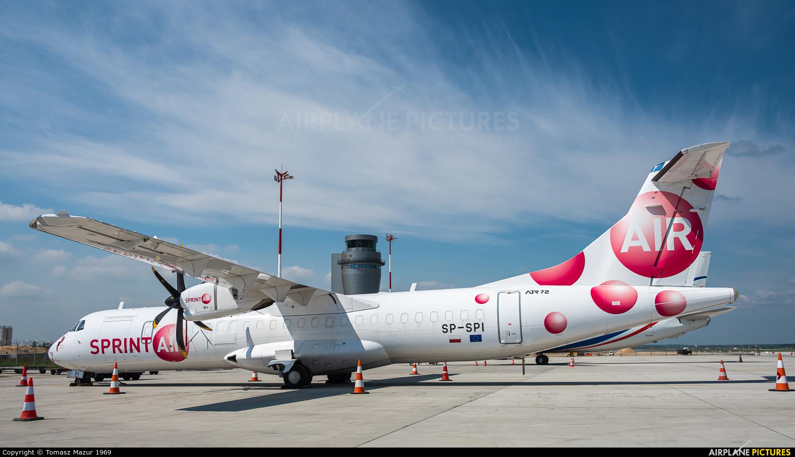 Sprint Air SP-SPI aircraft at Katowice - Pyrzowice