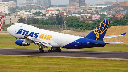 N485MC - Atlas Air Boeing 747-400F, ERF