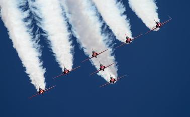 "- - Royal Air Force ""Red Arrows"" British Aerospace Hawk T.1/ 1A"