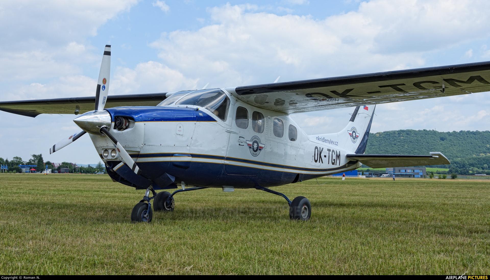 Private OK-TGM aircraft at Mladá Boleslav