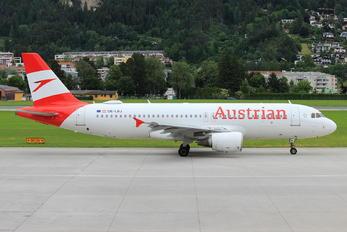 OE-LBJ - Austrian Airlines/Arrows/Tyrolean Airbus A320