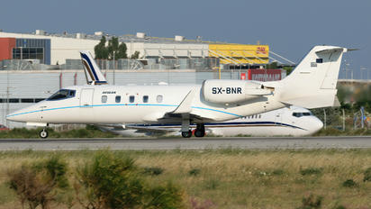 SX-BNR - Aegean Airlines Learjet 60