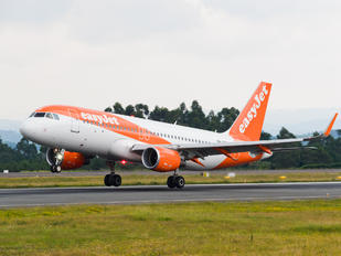 HB-JXF - easyJet Switzerland Airbus A320