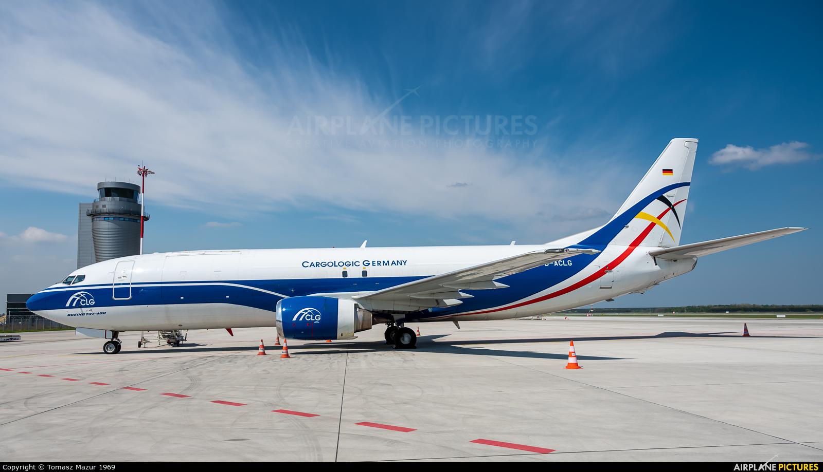 CargoLogic Germany D-ACLG aircraft at Katowice - Pyrzowice