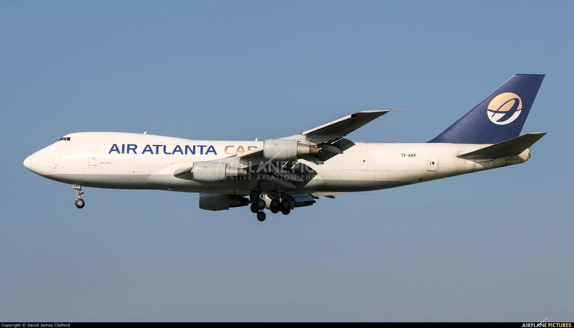 Air Atlanta Cargo TF-ARP aircraft at Frankfurt