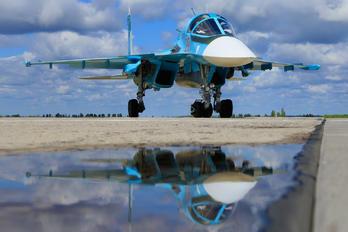 RF-95874 - Russia - Air Force Sukhoi Su-34