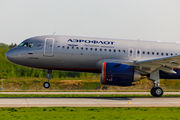 Delivery flight of first A320 NEO for Aeroflot title=