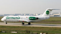 D-AGPF - Germania Fokker 100 aircraft