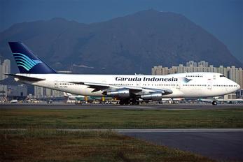 PK-GSA - Garuda Indonesia Boeing 747-200