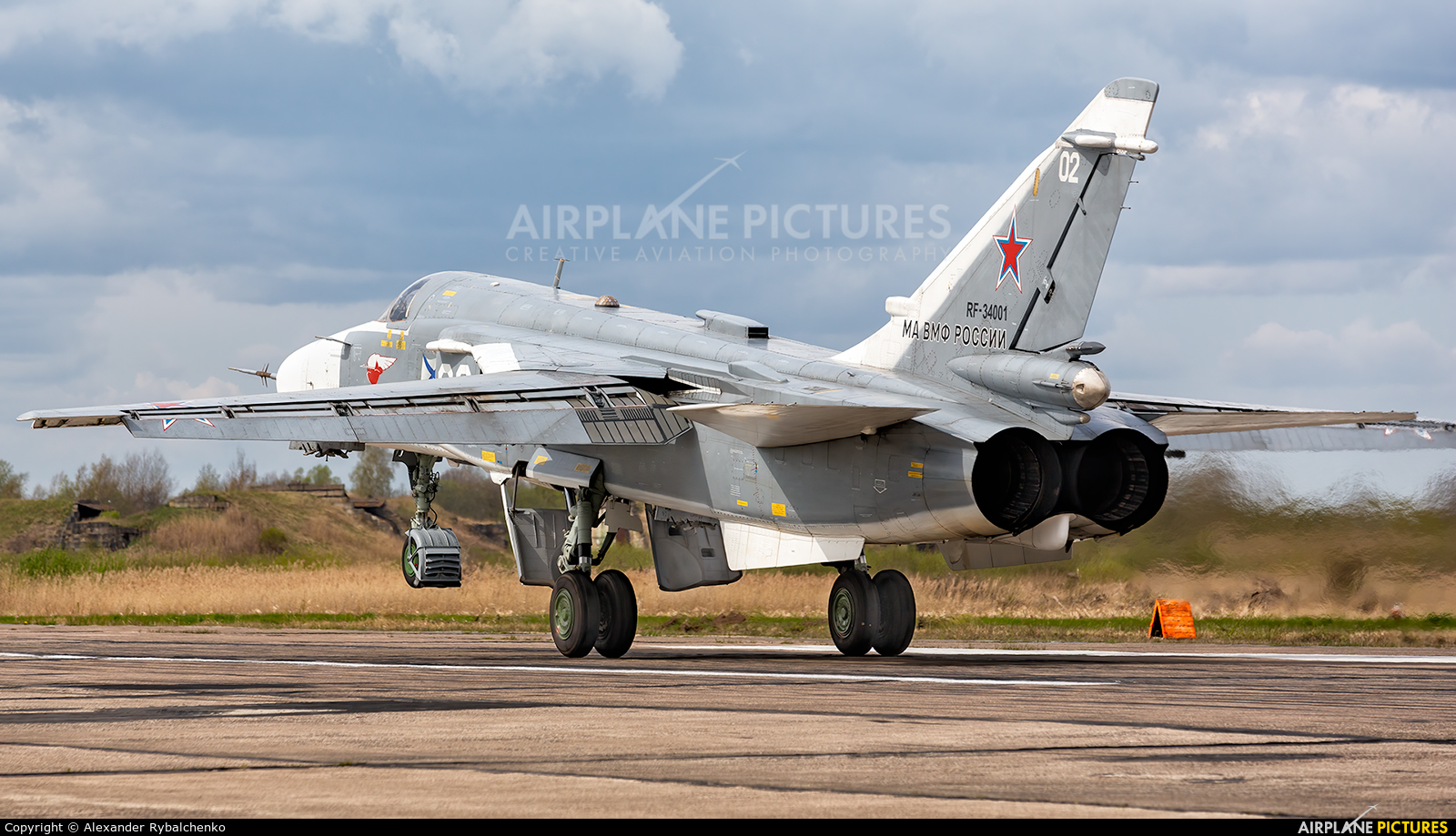 Russia - Navy RF-34001 aircraft at Undisclosed Location