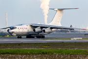 Ruby Star Air Enterprise Il-76 at Leipzig title=