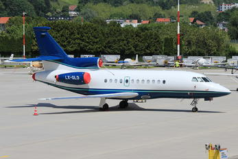LX-GLD - Global Jet Luxembourg Dassault Falcon 900 series