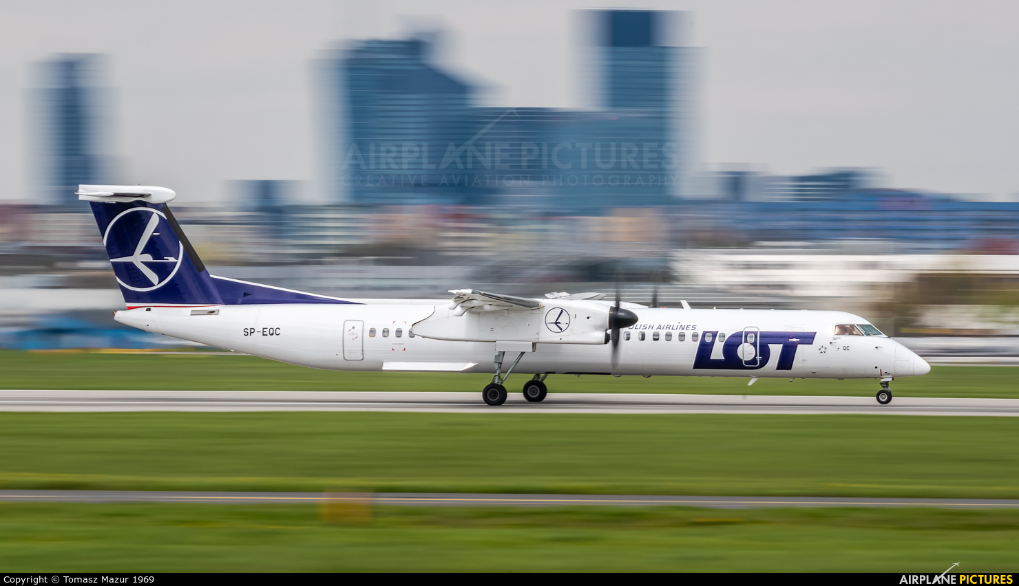 LOT - Polish Airlines SP-EQC aircraft at Katowice - Pyrzowice