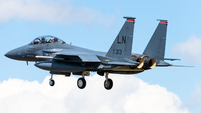 91-0313 - USA - Air Force McDonnell Douglas F-15E Strike Eagle