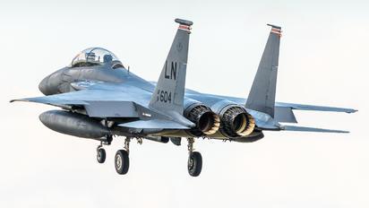 91-0604 - USA - Air Force McDonnell Douglas F-15E Strike Eagle