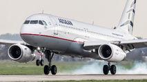 SX-DND - Aegean Airlines Airbus A320 aircraft