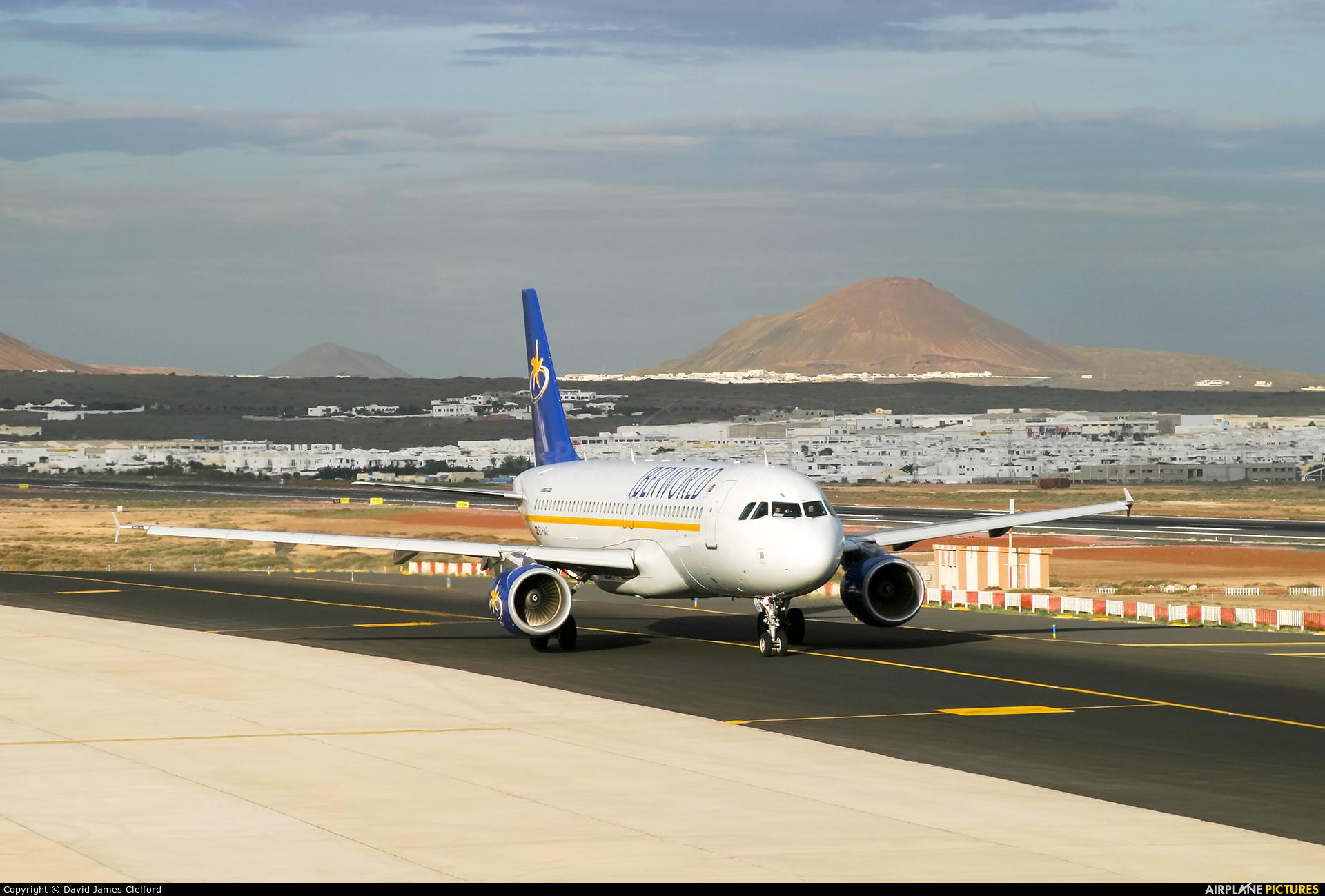 Iberworld EC-IAG aircraft at Lanzarote - Arrecife