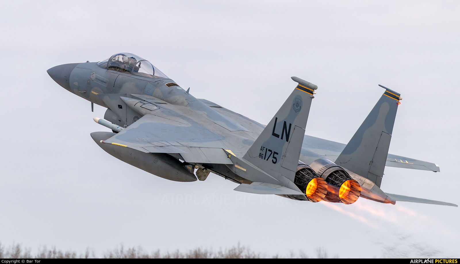 USA - Air Force 86-0175 aircraft at Poznań - Krzesiny