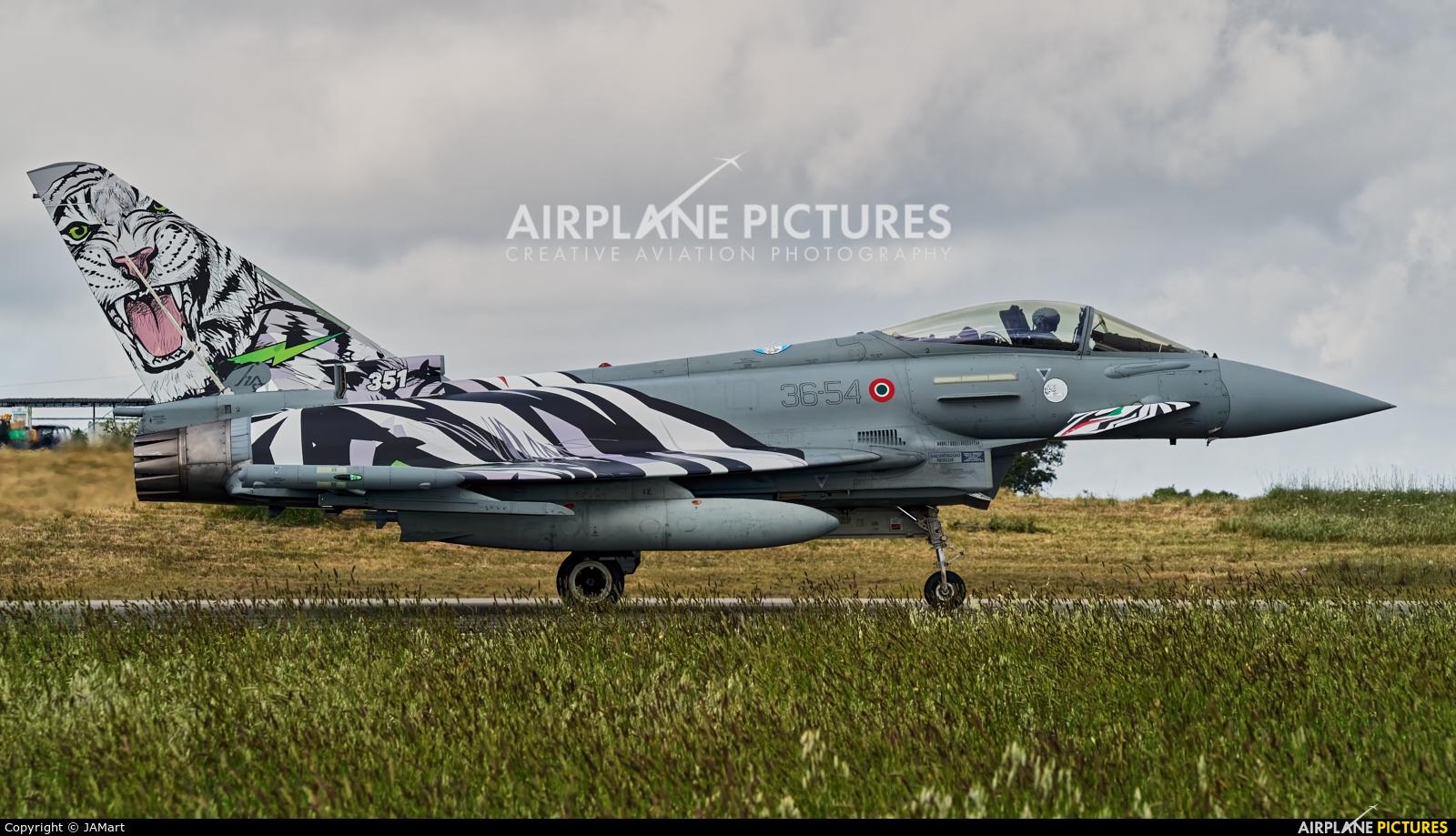 Italy - Air Force MM7349 aircraft at Beja AB