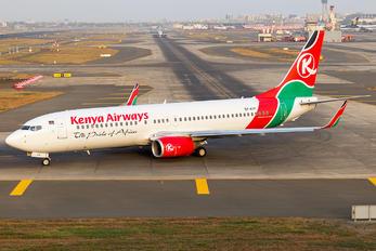 5Y-KYF - Kenya Airways Boeing 737-800
