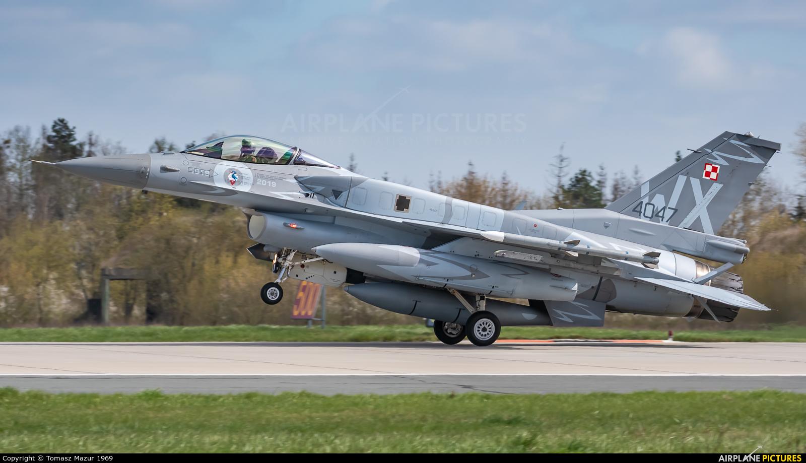 Poland - Air Force 4047 aircraft at Poznań - Krzesiny
