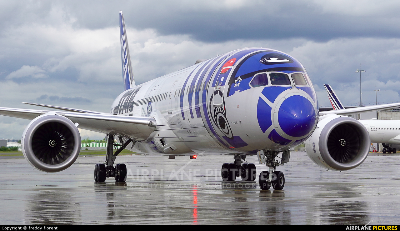 ANA - All Nippon Airways JA873A aircraft at Paris - Charles de Gaulle