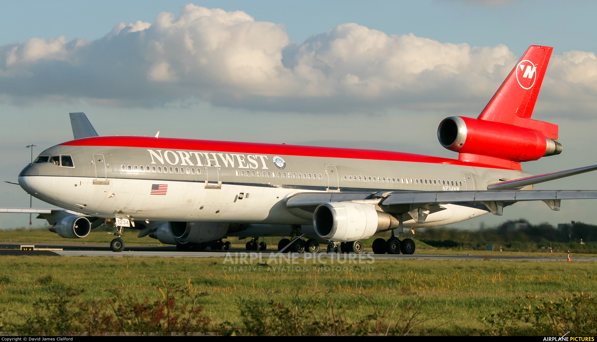 Northwest Airlines N234NW aircraft at Amsterdam - Schiphol