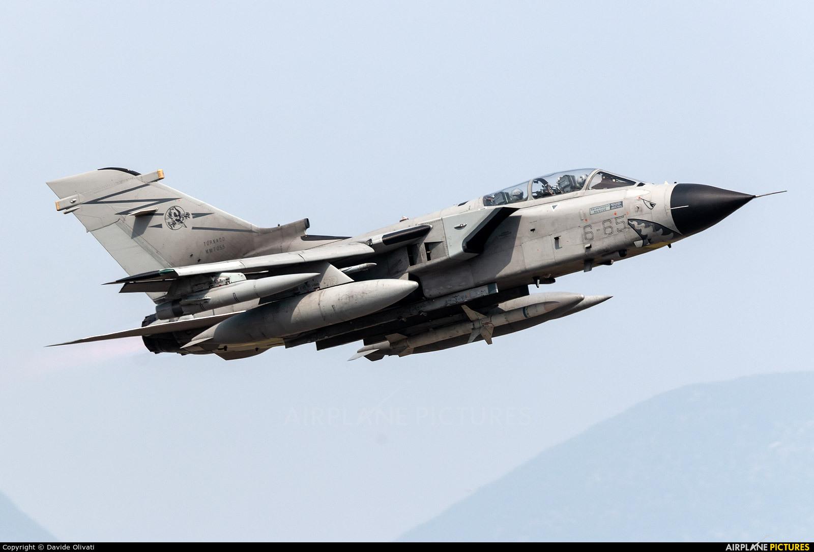 Italy - Air Force MM7055 aircraft at Ghedi
