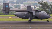 Israel Arava of El Salvador Air Force visited San Jose Intl title=