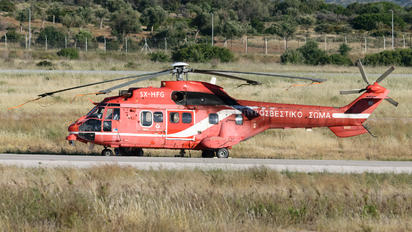 SX-HFG - Greece - Fire Fighting Service Aerospatiale AS332 Super Puma L (and later models)