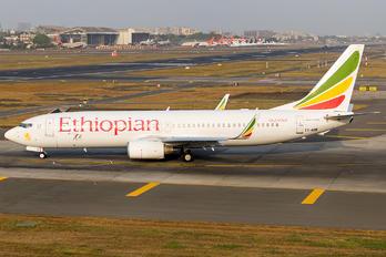 ET-AOB - Ethiopian Airlines Boeing 737-800