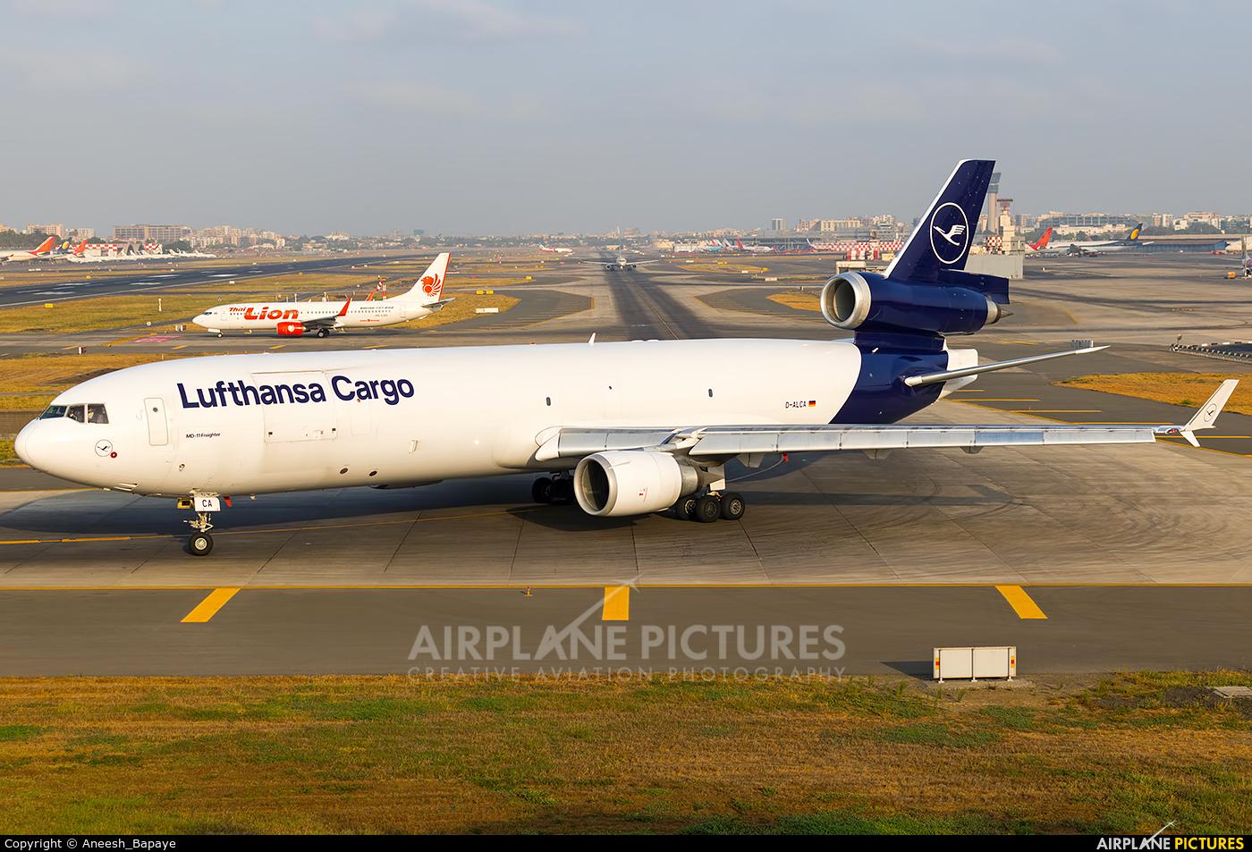Lufthansa Cargo D-ALCA aircraft at Mumbai - Chhatrapati Shivaji Intl