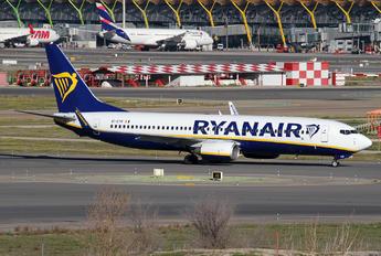 EI-DYR - Ryanair Boeing 737-800