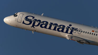 EC-KHX - Spanair Boeing 717