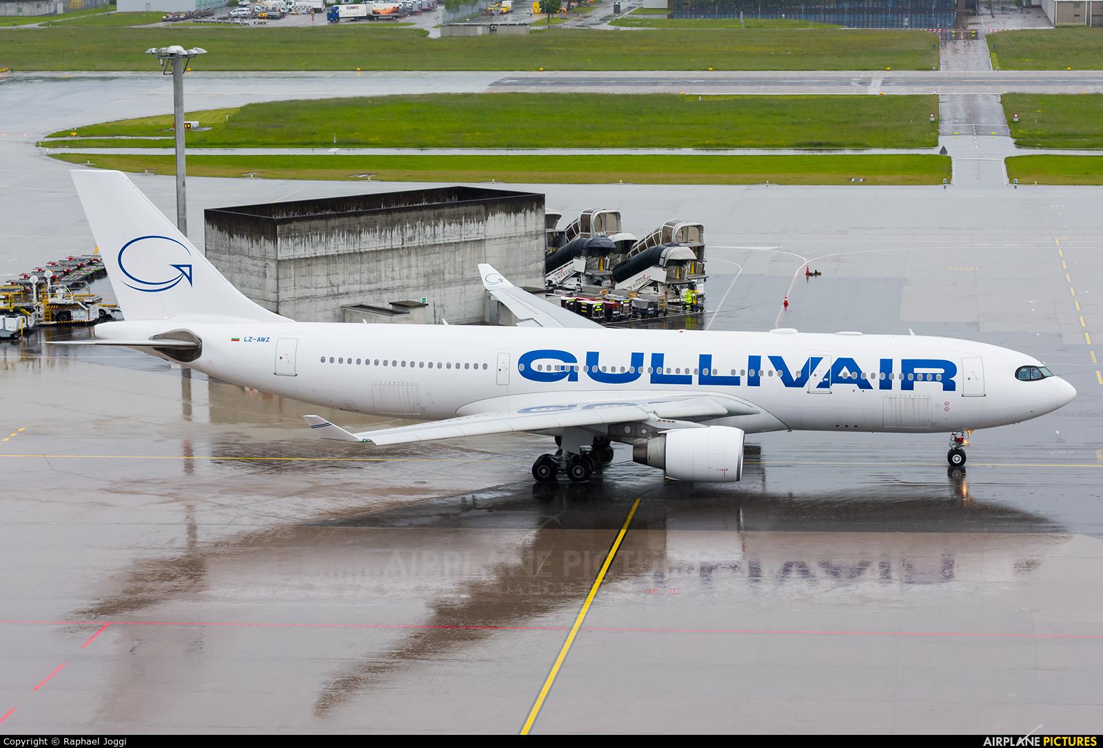 GullivAir LZ-AWZ aircraft at Zurich