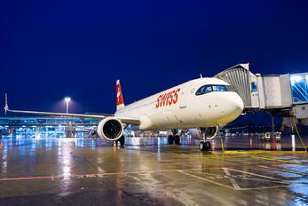 HB-JPA - Swiss Airbus A321 NEO