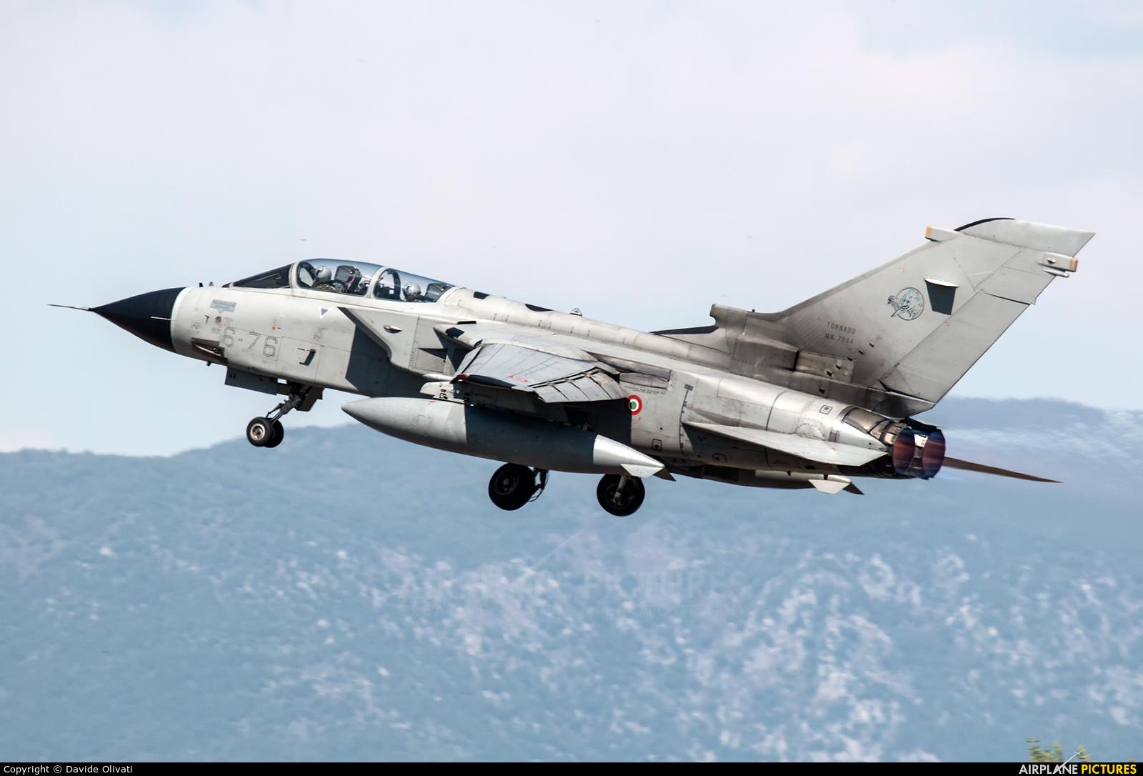 Italy - Air Force MM7044 aircraft at Ghedi