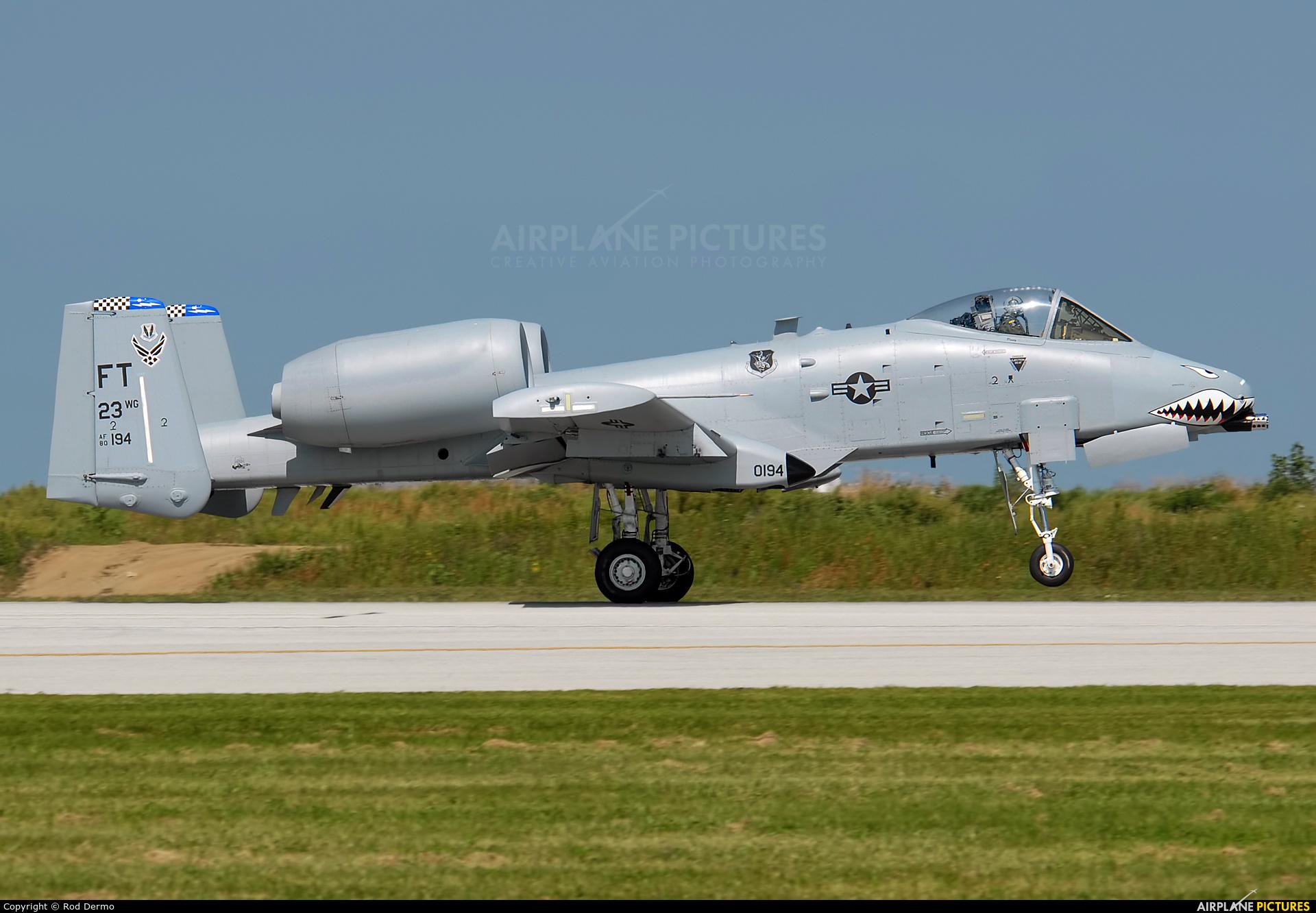 USA - Air Force 80-0194 aircraft at Cleveland - Burke Lakefront