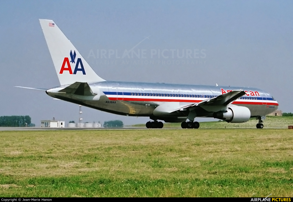 American Airlines N339AA aircraft at Brussels - Zaventem