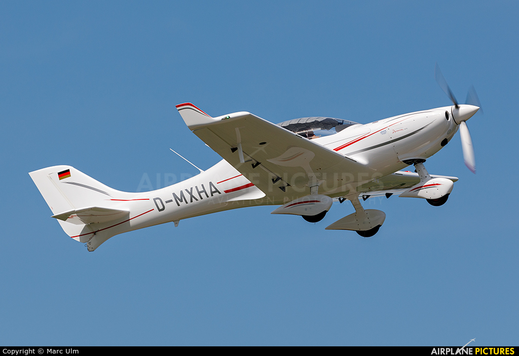 Private D-MXHA aircraft at Augsburg