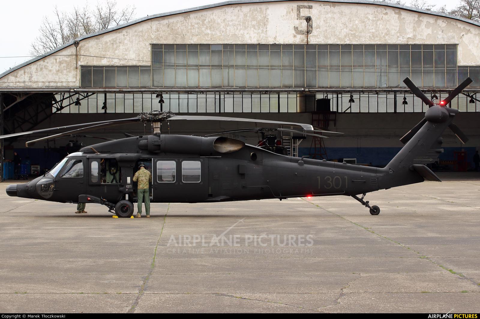 Poland - Air Force 1301 aircraft at Warsaw - Babice