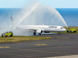 First flight on the new Frankfurt to São Miguel Island route title=