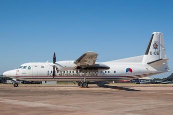 U-05 - Netherlands - Air Force Fokker 50