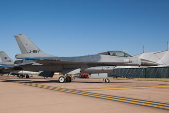 J-867 - Netherlands - Air Force General Dynamics F-16C Fighting Falcon