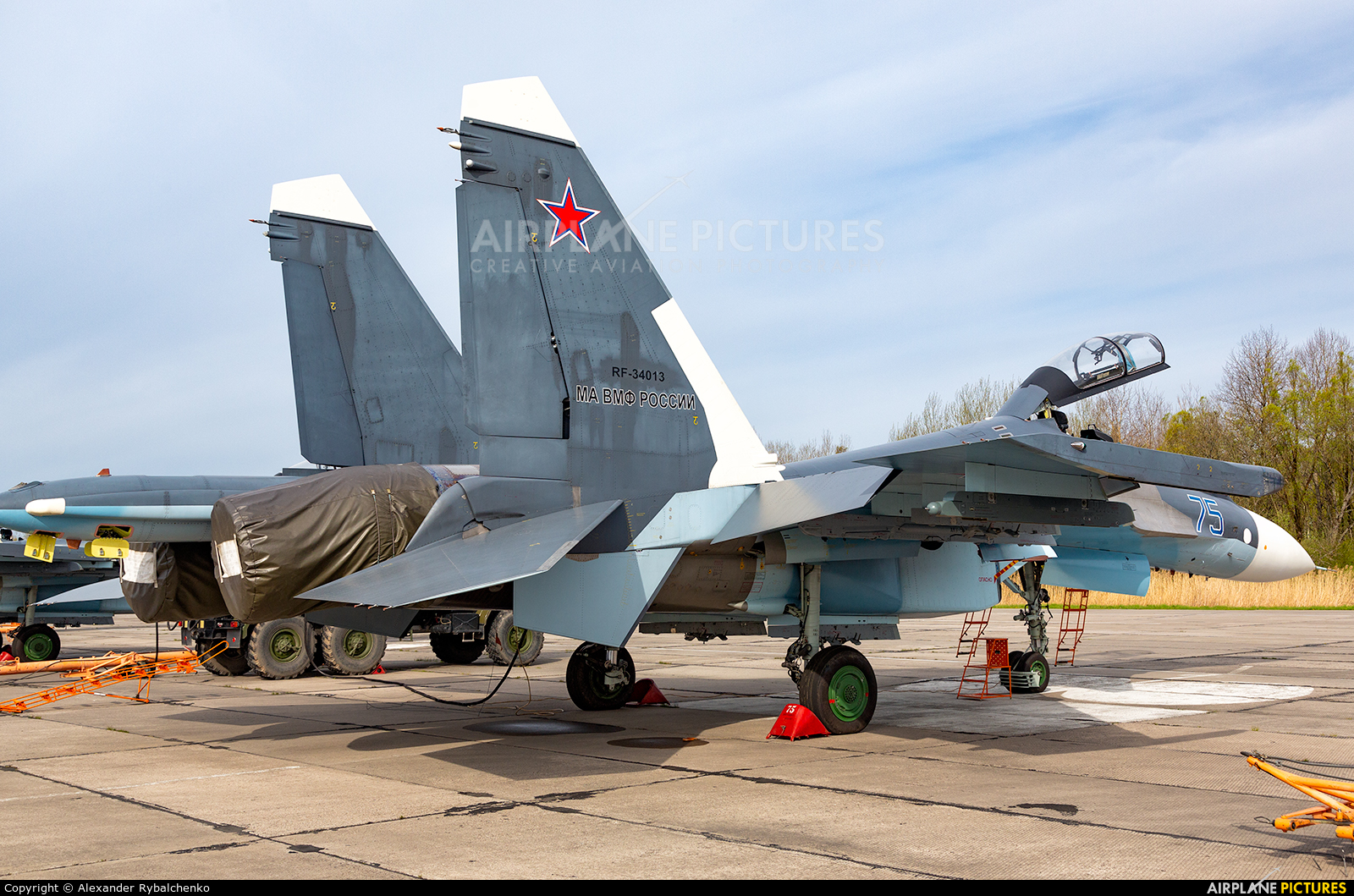 Russia - Navy RF-34013 aircraft at Undisclosed Location